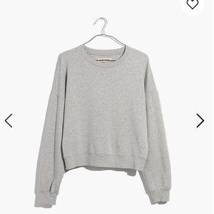 Madewell - Rivet & Thread Crop Sweatshirt